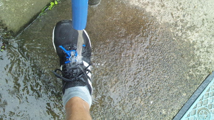 【トライアスリート的】アディゼロジャパン4で走ってみたよ【インプレ3 巡行性・水抜き性】
